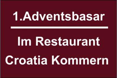 Adventsbasar im Restaurant Croatia Kommern 2019